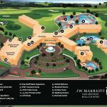 3D JW Marriott Resort Map