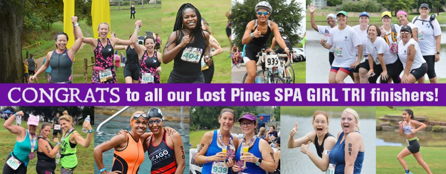 Congrats Lost Pines Finishers!