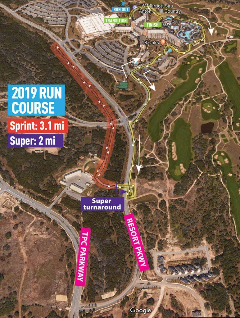 2019 SGT run Map