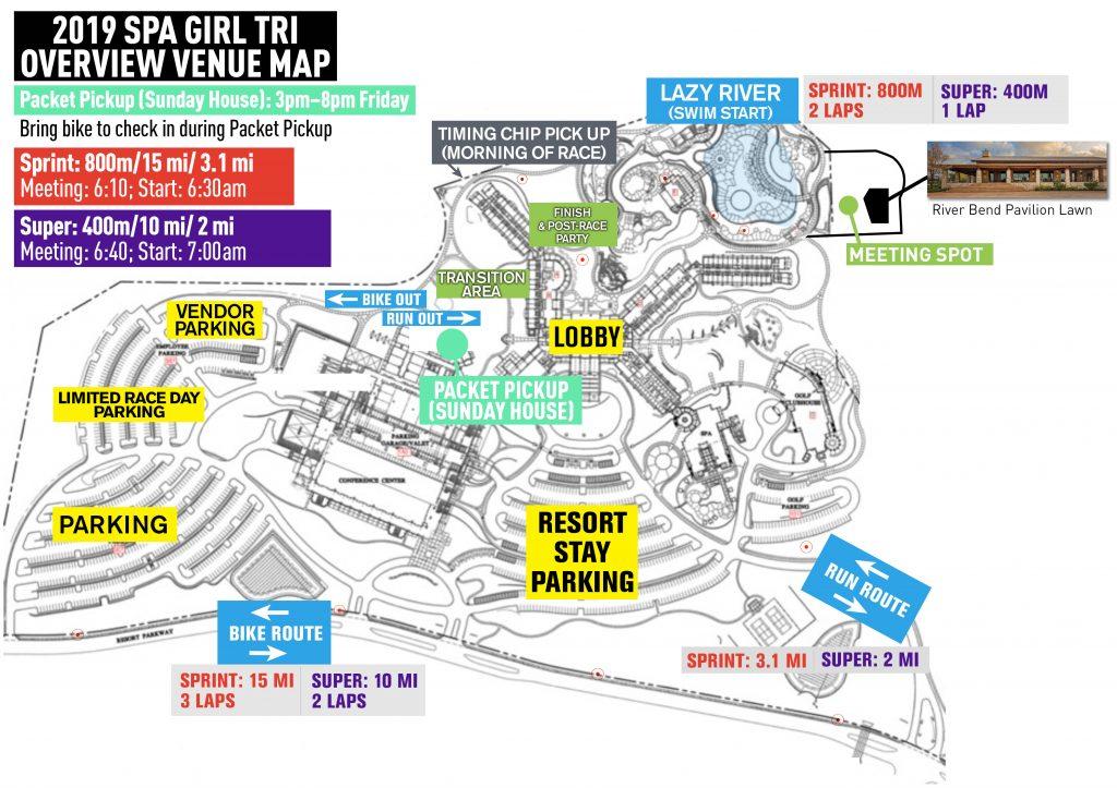 SGT Venue Map