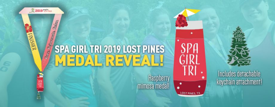 Lost Pines 2019 medal reveal
