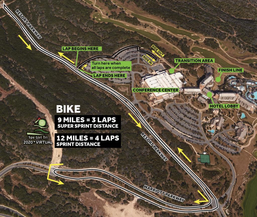 2020 Spa Girl Bike Route